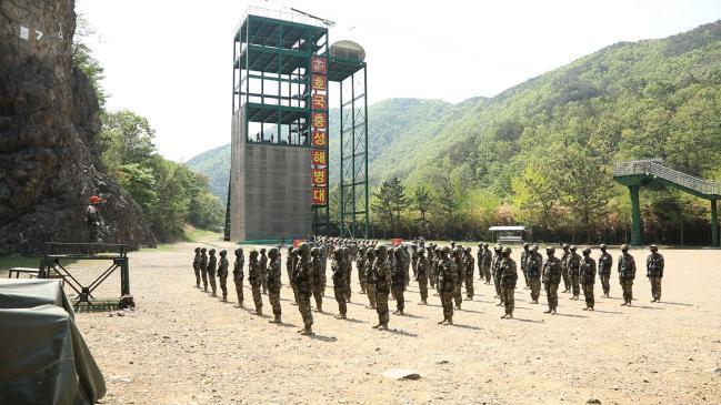 [안승회 기자의 군(軍)금해] 신병 교육훈련 현장-해병대 2.jpg