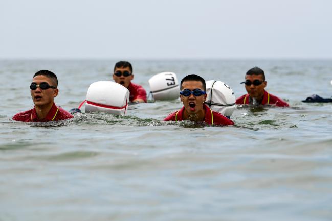 해병대 연평부대, 하계 전투수영훈련 성료.jpg