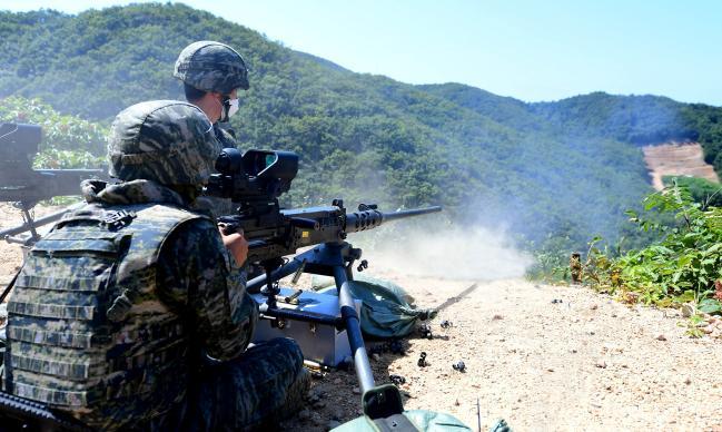 해병대6여단, 공용화기 사격평가.jpg