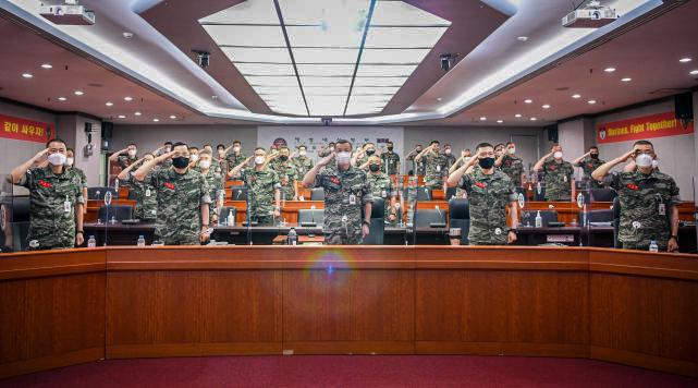 해병대, 2021년 전반기 지휘관 회의 개최.jpg